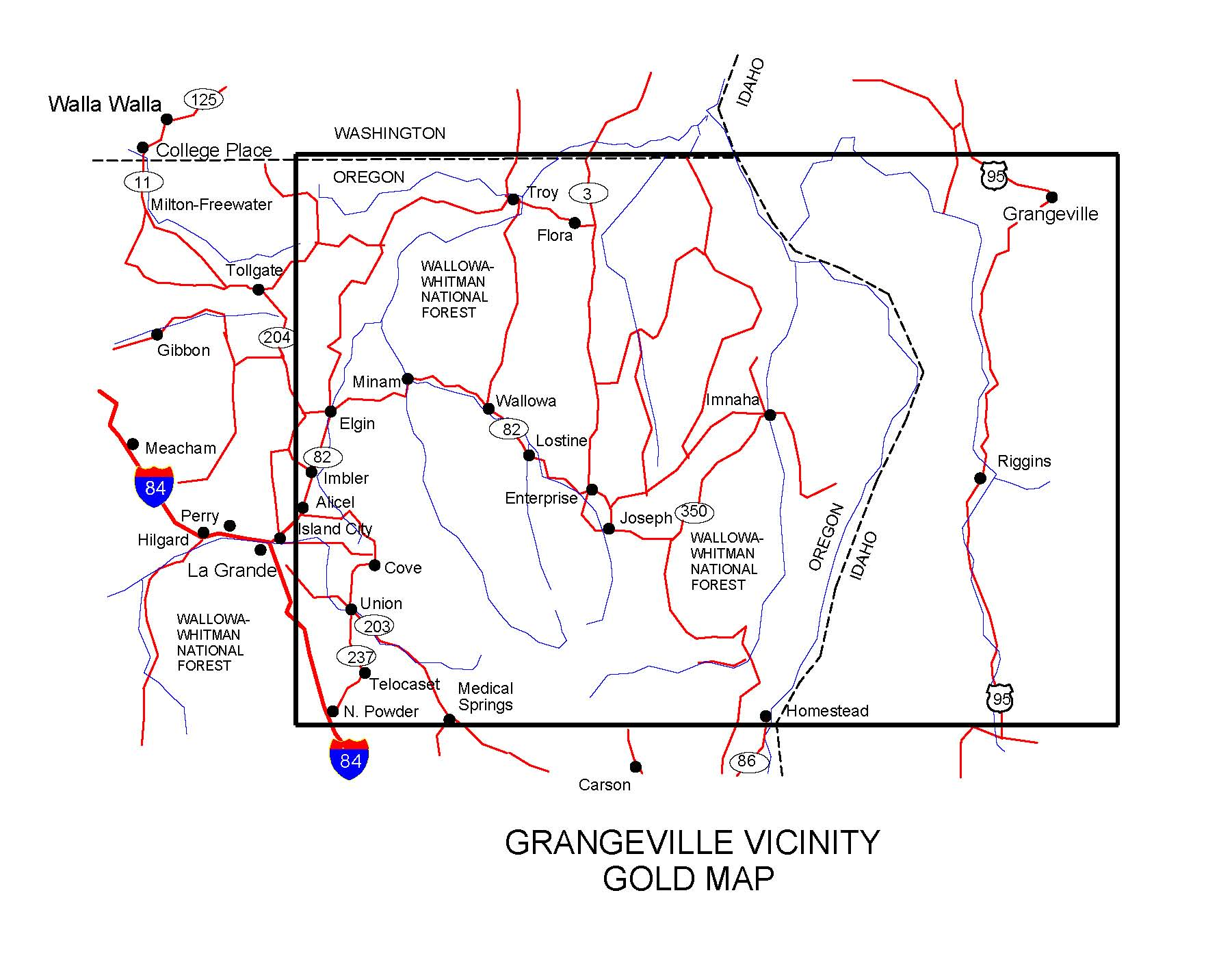 OREGON GOLD MAPS, GOLD PLACERS AND GOLD PANNING AND METAL ... on gold mining in oregon, gold in washington state, gold panning locations in oregon, gold in north america map, gold prospecting in oregon, gold in south carolina map, gold in canada map, gold in australia map, gold usa map, gold in north carolina, gold in south dakota map, gold in south africa map, gold in new mexico, gold in mexico map, gold panning rules in oregon, gold finds in oregon, gold lake oregon, gold in bend oregon, gold areas in oregon, gold in rocks in oregon,