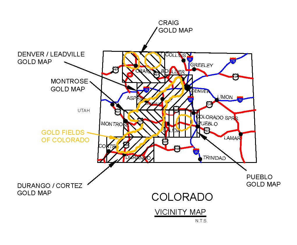 Gold Mining Locations Gold Prospecting Equipment And