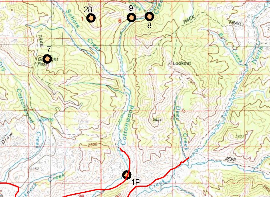 WYOMING GOLD MAPS GOLD PLACERS AND GOLD PANNING IN WYOMING GOLD - Maps wyoming